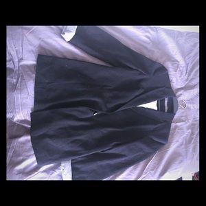 Zara blazer with stripped insert